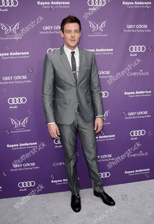 Actor Cory Monteith arrives at the 12th Annual Chrysalis Butterfly Ball on in Los Angeles