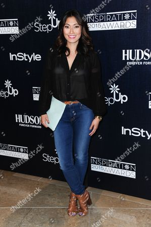 Catherine Haena Kim arrives at the 12th Annual Inspiration Awards held at the Beverly Hilton Hotel, in Beverly Hills, Calif