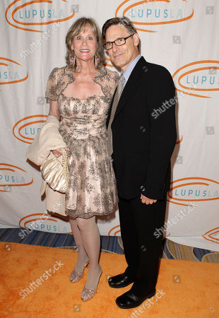 Actors Pamela Guest and Nicholas Guest attend the 12th Annual Lupus L.A. Orange Ball at the Beverly Wilshire Hotel on in Beverly Hills, Calif