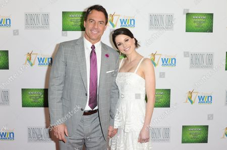 Julie Freyermuth and Mark Steines arrives at the 17th Annual Women's Image Awards held at Royce Hall on Wednesday, Feb.10, 2016, in Los Angeles