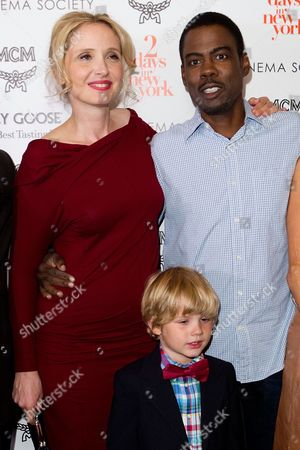 "Julie Delpy, Owen Shipman and Chris Rock attend a special screening of ""2 Days In New York"" hosted by The Cinema Society at Landmark Sunshine Cinema on in New York"