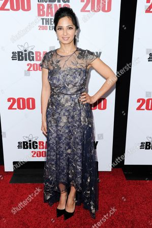 """Aarti Mann attends the 200th Episode Celebration of """"The Big Bang Theory"""" held at Vibiana, in Los Angeles"""
