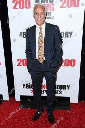 "Brian George attends the 200th Episode Celebration of ""The Big Bang Theory"" held at Vibiana, in Los Angeles"