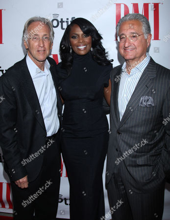 Neil Portnow, National Academy of Recording Arts and Sciences President, Catherine Brewton, BMI Vice President and Del Bryant, BMI President & CEO arrive at the BMI Urban Awards honoring Mariah Carey held at the Saban theatre, in Beverly Hills, Calif