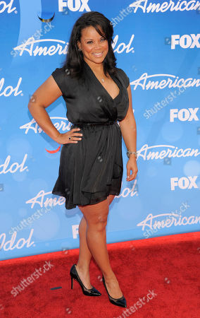 "Kimberley Locke arrives at the ""American Idol"" finale at the Nokia Theatre at L.A. Live, in Los Angeles"