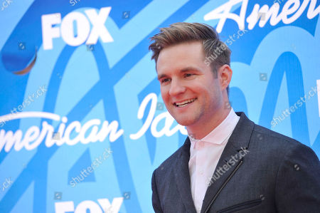 "Blake Lewis arrives at the ""American Idol"" finale at the Nokia Theatre at L.A. Live, in Los Angeles"