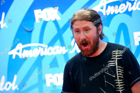 """Stock Photo of Casey Abrams arrives at the """"American Idol"""" finale at the Nokia Theatre at L.A. Live, in Los Angeles"""