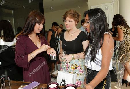 Aislinn Paul and Melinda Shankar attend the 2013 2013 Bask-It-Style Media Day, on Wednesday, September 4th, 2013 in Toronto, Canada
