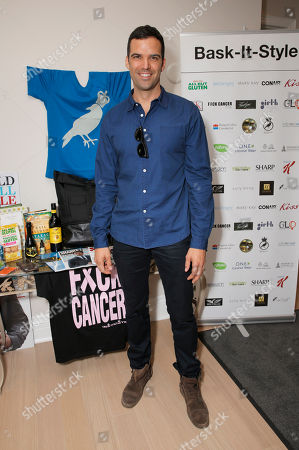 Benjamin Ayres attends the 2013 2013 Bask-It-Style Media Day, on Wednesday, September 4th, 2013 in Toronto, Canada
