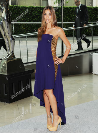Diana Sanchez attends the 2013 CFDA Fashion Awards at Alice Tully Hall on in New York