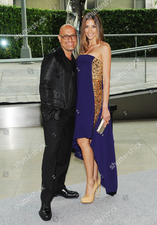 Angel Sanchez, left, and Diana Sanchez attend the 2013 CFDA Fashion Awards at Alice Tully Hall on in New York