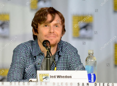 """Jed Whedon attends """"Agent of S.H.I.E.L.D."""" panel on Day 3 of Comic-Con International on in San Diego, Calif"""