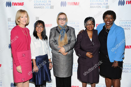 Editorial image of 2013 Courage in Journalism and Lifetime Achievement Awards, New York, USA - 23 Oct 2013