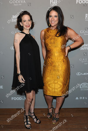 FOOD & WINE's editor in chief Dana Cowin, left, and vice president and publisher Christina Grdovic, right, host the 2013 FOOD & WINE Best New Chefs 25th anniversary celebration, at Pranna in New York