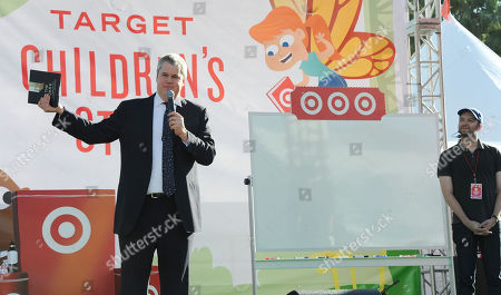 Daniel Handler, whose pen name is Lemony Snicket, at left, and Jon Klassen at the 2013 LA Times Festival of Books at the University of Southern California campus, in Los Angeles