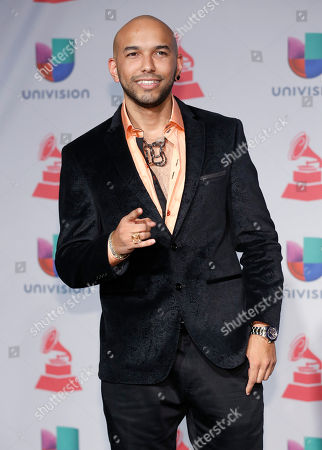 Stock Photo of 2Nyce arrives at the 14th Annual Latin Grammy Awards at the Mandalay Bay Hotel and Casino, in Las Vegas