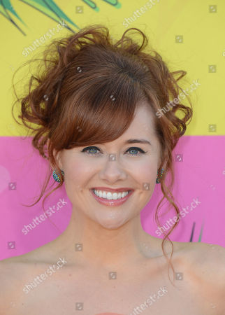 Actress Haley Strode arrives at the 26th annual Nickelodeon's Kids' Choice Awards, in Los Angeles