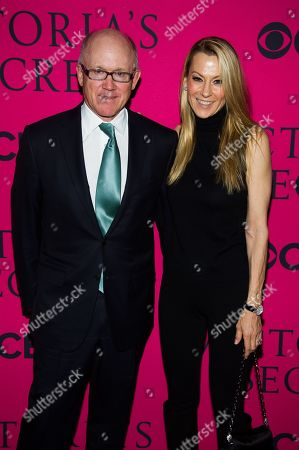 Woody Johnson and Suzanne Johnson attend the Victoria's Secret Fashion Show on in New York