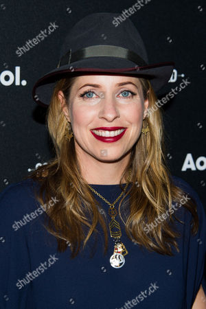 Stock Photo of Tiffany Shlain attends the AOL NewFront on in New York