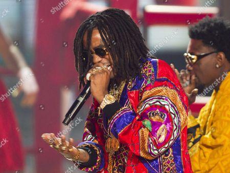 Editorial picture of 2014 BET Hip Hop Awards - Show - , Atlanta, USA - 20 Sep 2014