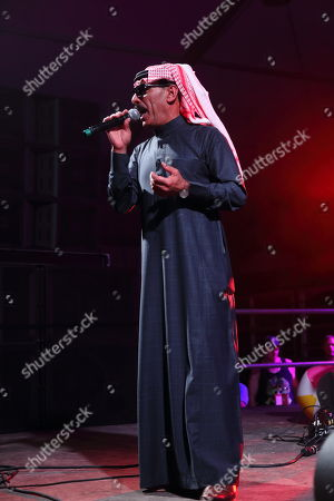 Omar Souleyman performs at the 2014 Bonnaroo Music and Arts Festival, in Manchester, Tennessee