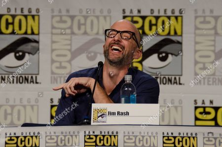 """Jim Rash attends the """"Mike Tyson Mysteries"""" panel on Day 2 of Comic-Con International, in San Diego"""