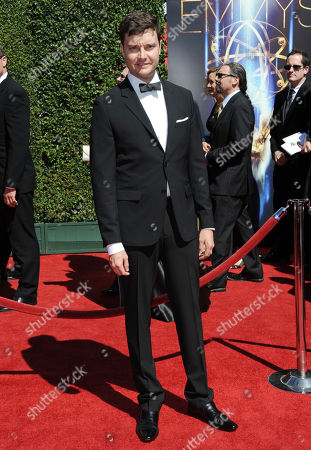 Michael McMillian arrives at the 2014 Creative Arts Emmys at Nokia Theatre L.A. LIVE, in Los Angeles