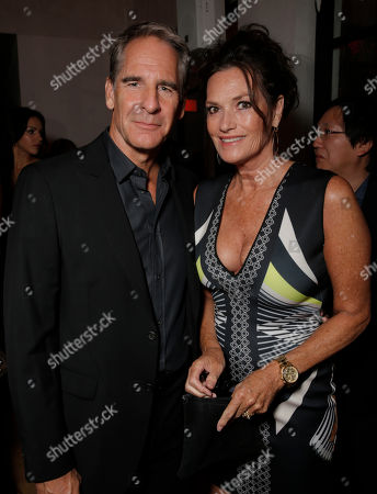Scott Bakula, left, and Chelsea Field attend Entertainment Weeklyâ?™s Pre-Emmy Party sponsored by L'Oreal Paris and Hearts On Fire at Fig & Olive in West Hollywood, Calif. on