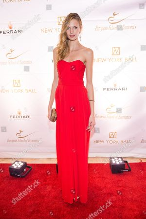 Editorial picture of 2014 ESE Ball, New York, USA - 19 Nov 2014