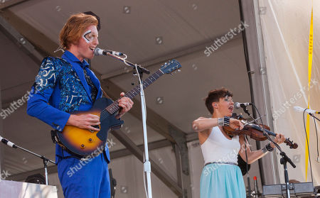 Editorial picture of 2014 Jazz Festival - Weekend 2 - Day 4, New Orleans, USA - 4 May 2014