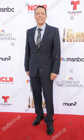 Yancey Arias arrives at the NCLR ALMA Awards at the Pasadena Civic Auditorium, in Pasadena, Calif