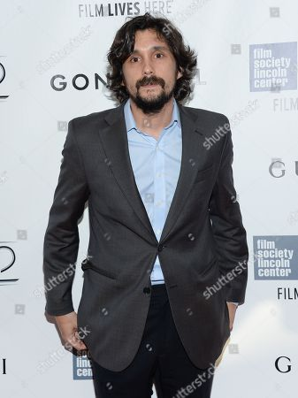 "Stock Picture of Director Lissandro Alonso attends the opening night gala world premiere of ""Gone Girl"" during the 52nd New York Film Festival at Alice Tully Hall, in New York"