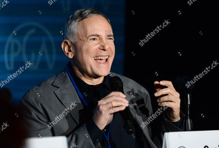 Craig Zadan speaks on stage at the Produced By Conference - Day 2 at Warner Bros. Studios, in Burbank, Calif
