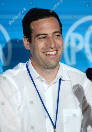 Stock Photo of Tom Forman speaks on stage at the Produced By Conference - Day 2 at Warner Bros. Studios, in Burbank, Calif