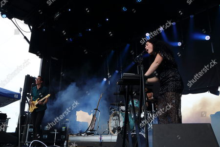Morgan Kibby and White Sea performs at The Sasquatch! Music Festival at the Gorge Amphitheatre, in George, Washington