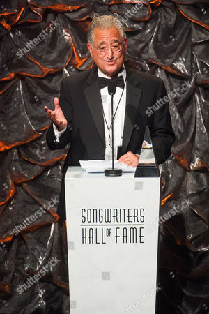Del Bryant attends the Songwriters Hall of Fame Awards on in New York