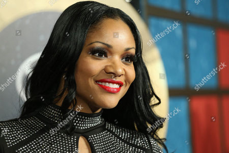 Actress Erica Hubbard arrives during the 2014 Soul Train Awards at the Orleans Arena at The Orleans Hotel & Casino on in Las Vegas, NV