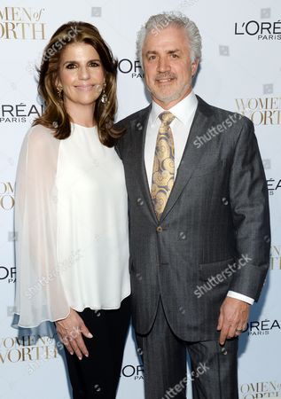 President, L'Oreal Paris, Karen Fondu and her husband attend the Ninth Annual Women of Worth Awards hosted by L'Oreal Paris at The Pierre hotel, in New York