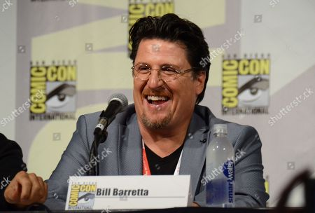 "Bill Barretta attends ""The Muppets"" panel on day 3 of Comic-Con International, in San Diego"