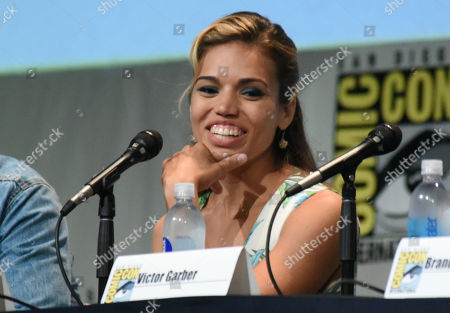 """Ciara Renee attends the """"The Flash"""" panel on day 3 of Comic-Con International, in San Diego"""