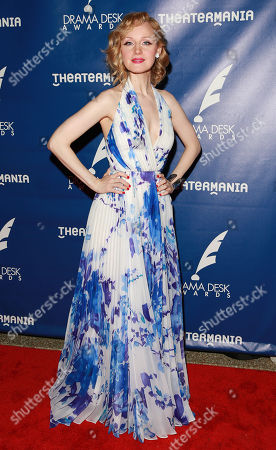 Erin Davie attends the 60th Annual Drama Desk Awards at Anita's Way, in New York