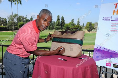 Charles Parnell is seen at the 16th Emmys Golf Classic presented by the Television Academy Foundation at the Wilshire Country Club on in Los Angeles