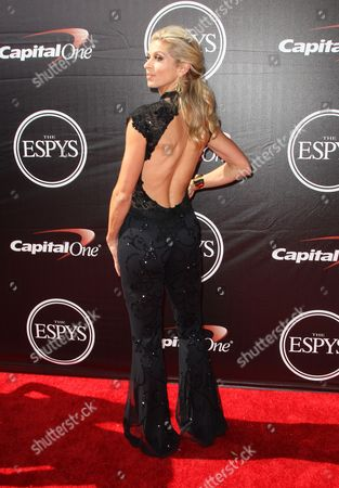 Athlete Maggie Vessey arrives at the ESPY Awards at the Microsoft Theater, in Los Angeles