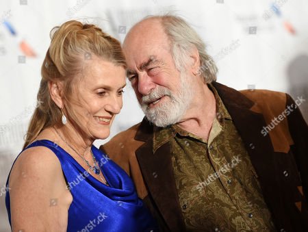 Lyricist Robert Hunter and wife Maureen attend the 46th Annual Songwriters Hall Of Fame Induction and Awards Gala at the Marriott Marquis, in New York