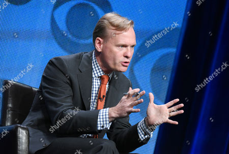 Political Director, CBS News, John Dickerson, participates in the CBS News panel at the CBS Summer TCA Tour at the Beverly Hilton Hotel, in Beverly Hills, Calif