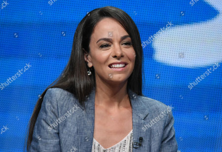 """Actor/executive producer Michele Lepe participates in the Sprout network's """"Nina's World"""" panel at the NBCUniversal Television Critics Association Summer Tour at the Beverly Hilton Hotel, in Beverly Hills, Calif"""