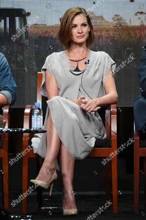 """Stock Picture of Daisy Betts participates in the """"Childhood's End"""" panel at the The NBCUniversal Television Critics Association Summer Tour at the Beverly Hilton Hotel, in Beverly Hills, Calif"""
