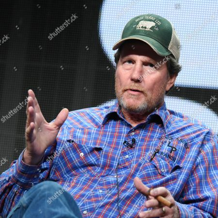 Investor Rooster McConaughey participates in the 'West Texas Investors Club' panel at the The NBCUniversal Television Critics Association Summer Tour at the Beverly Hilton Hotel, in Beverly Hills, Calif