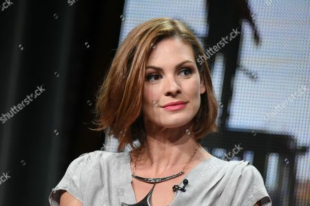 """Daisy Betts participates in the """"Childhood's End"""" panel at the The NBCUniversal Television Critics Association Summer Tour at the Beverly Hilton Hotel, in Beverly Hills, Calif"""