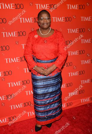 Obiageli Ezekwesili attends the TIME 100 Gala, celebrating the 100 most influential people in the world, at the Frederick P. Rose Hall, Time Warner Center, in New York